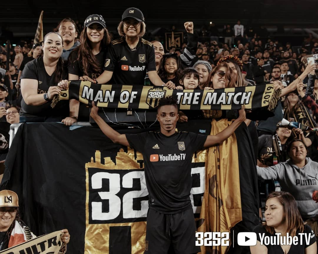 Latif Blessing named Man of the Match as Los Angeles FC smash FC Dallas in MLS