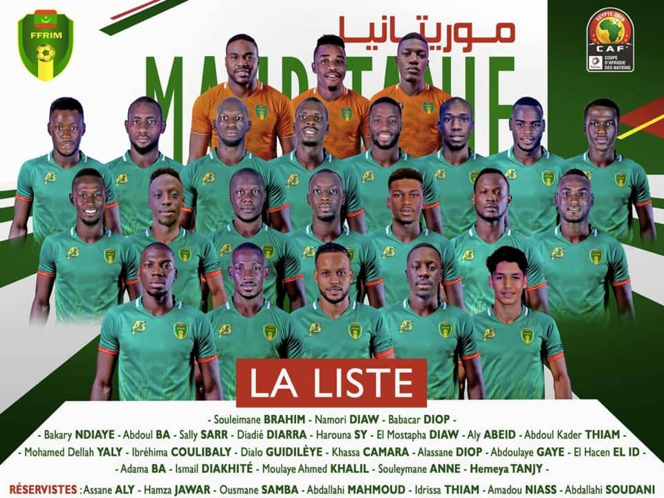 2019 Africa Cup of Nations: Mauritania coach settles on final 23-man squad; seven on standby list