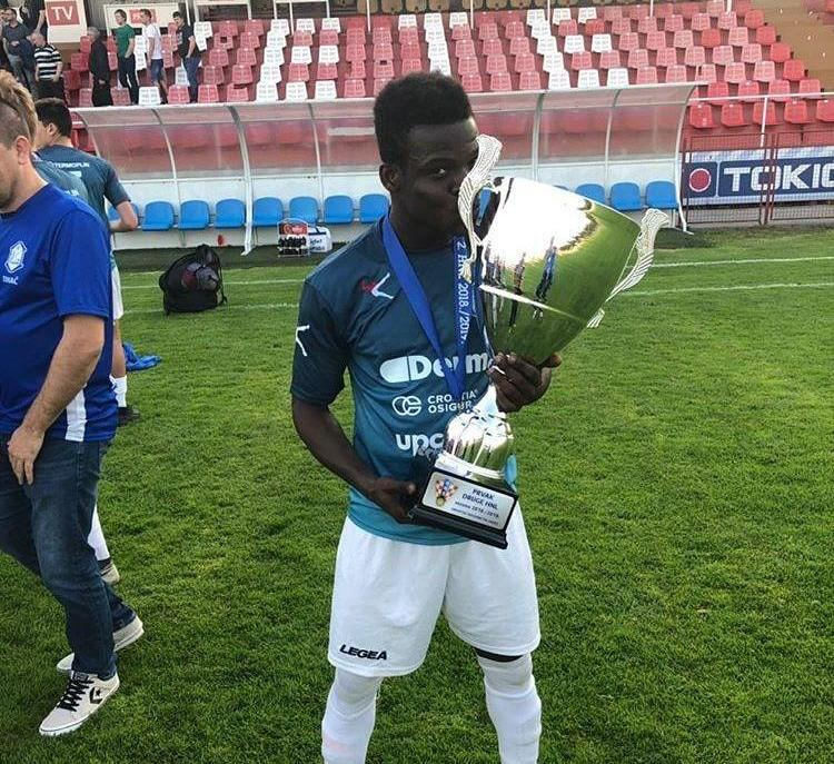 Accra Lions FC-owned Patrick Kesse Jnr scores on debut as promoted Varazdin are crowned champions