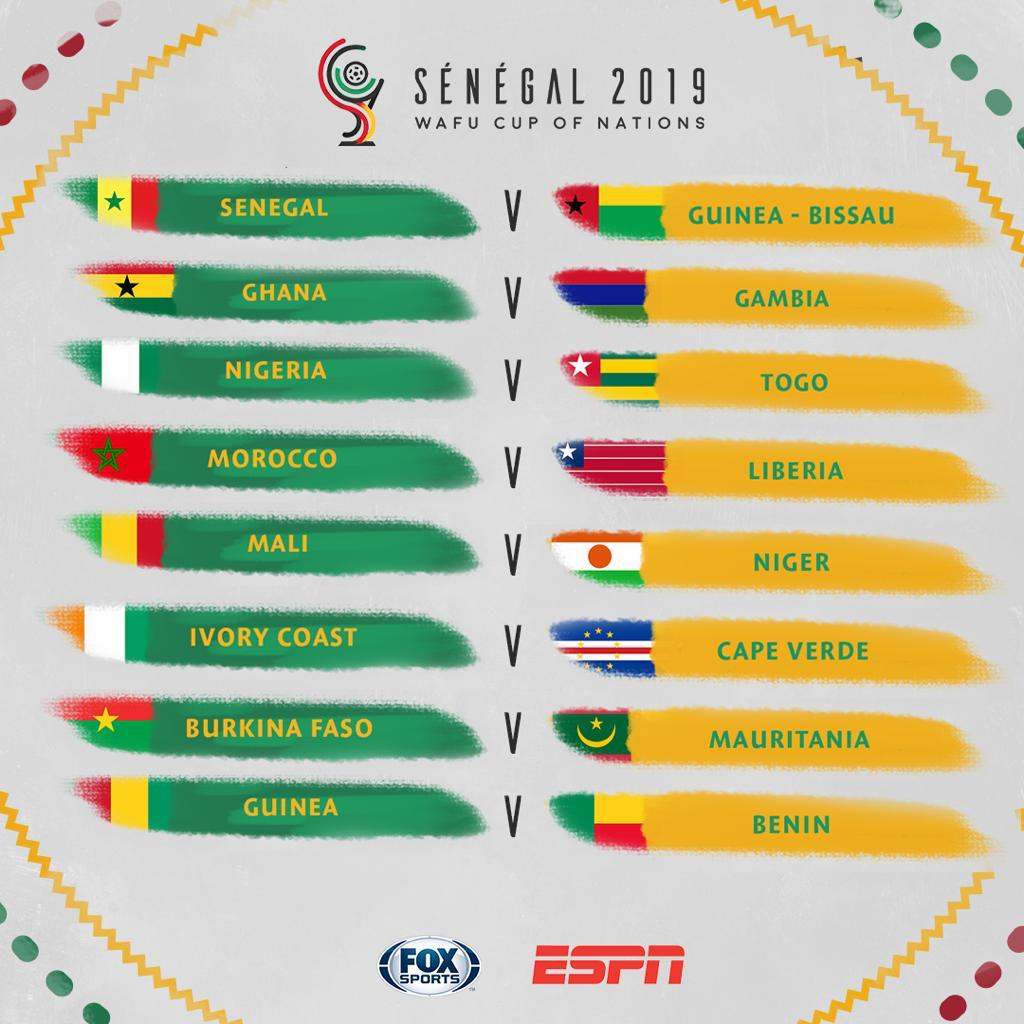 2019 WAFU Cup of Nations: Holders Ghana to face Gambia in title defence opener; new format revealed