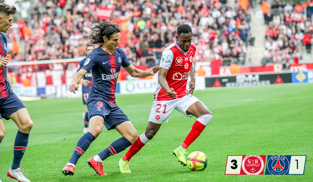 In-form Baba Rahman thanks Stade de Reims fans after role in victory over PSG
