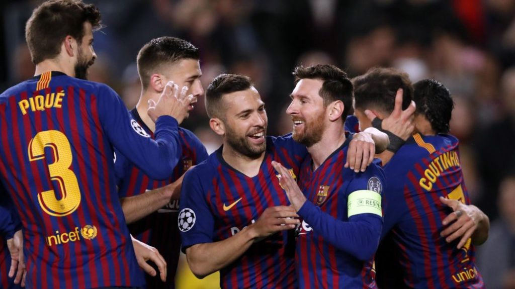 Barcelona set to land another Champions League title
