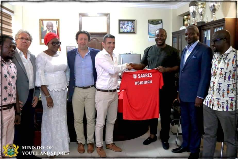 Portuguese giants SL Benfica to establish soccer academy in Ghana