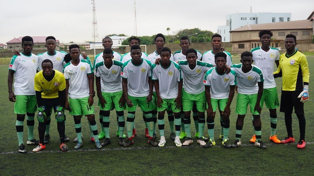 Swedish side Hammarby IF donates jerseys to Inter Allies youth team Cedar Stars