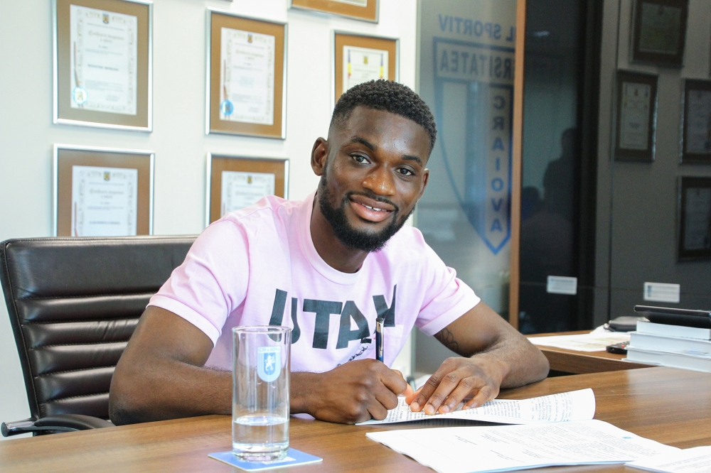 EXCLUSIVE: Ghanaian defender Isaac Donkor to leave Romanaian side Universitatea Craiova this summer