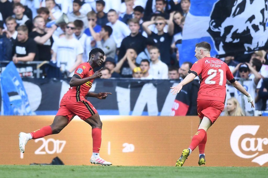 Ghana youth stars Kudus, Sadiq score for Nordsjaelland to stun Danish giants FC Copenhagen
