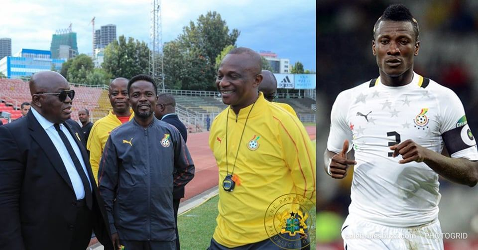 Ghana President Akufo-Addo summons Black Stars coach over Asamoah Gyan retirement