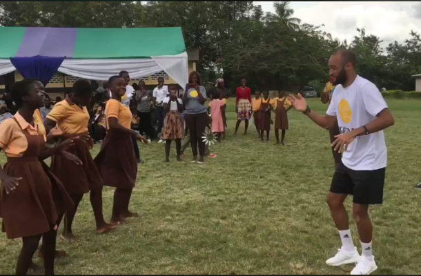 VIDEO: Southampton star Nathan Redmond starts charity work in Ghana