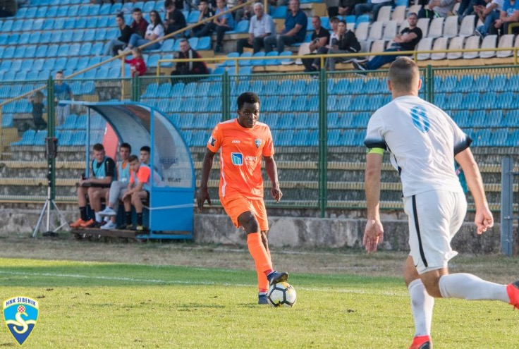 VIDEO: Prince Obeng Ampem scores for Croatian second-tier side Sibenik in defeat