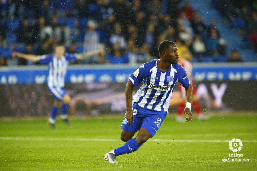 Mubarak Wakaso savours first league goal on last day of Spanish La Liga