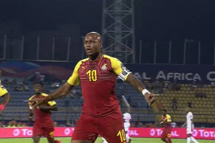 Ghana captain Andre Ayew racing against time to be fit for Cameroon cracker