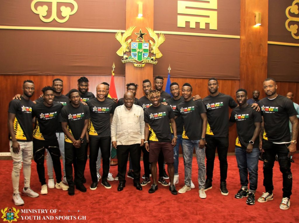 Ghana's Sports Minister Isaac Asiamah sends well wishes to Black Stars ahead of Benin clash