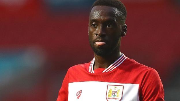 Mo Eisa: Peterborough pay Bristol City club-record fee for striker