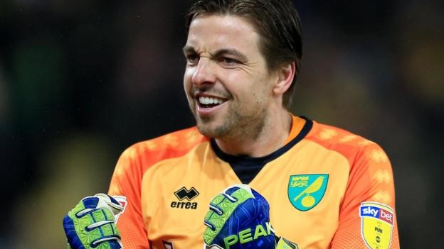 Tim Krul: Norwich City goalkeeper signs new deal