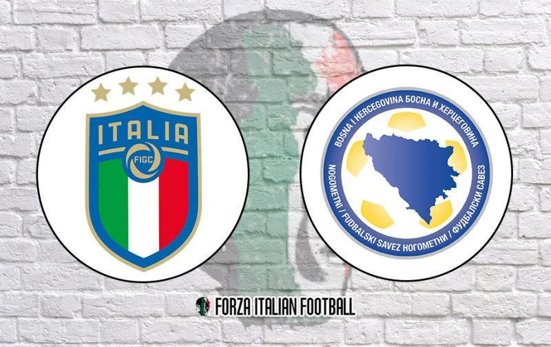 Italy v Bosnia and Herzegovina: Official Line-Ups