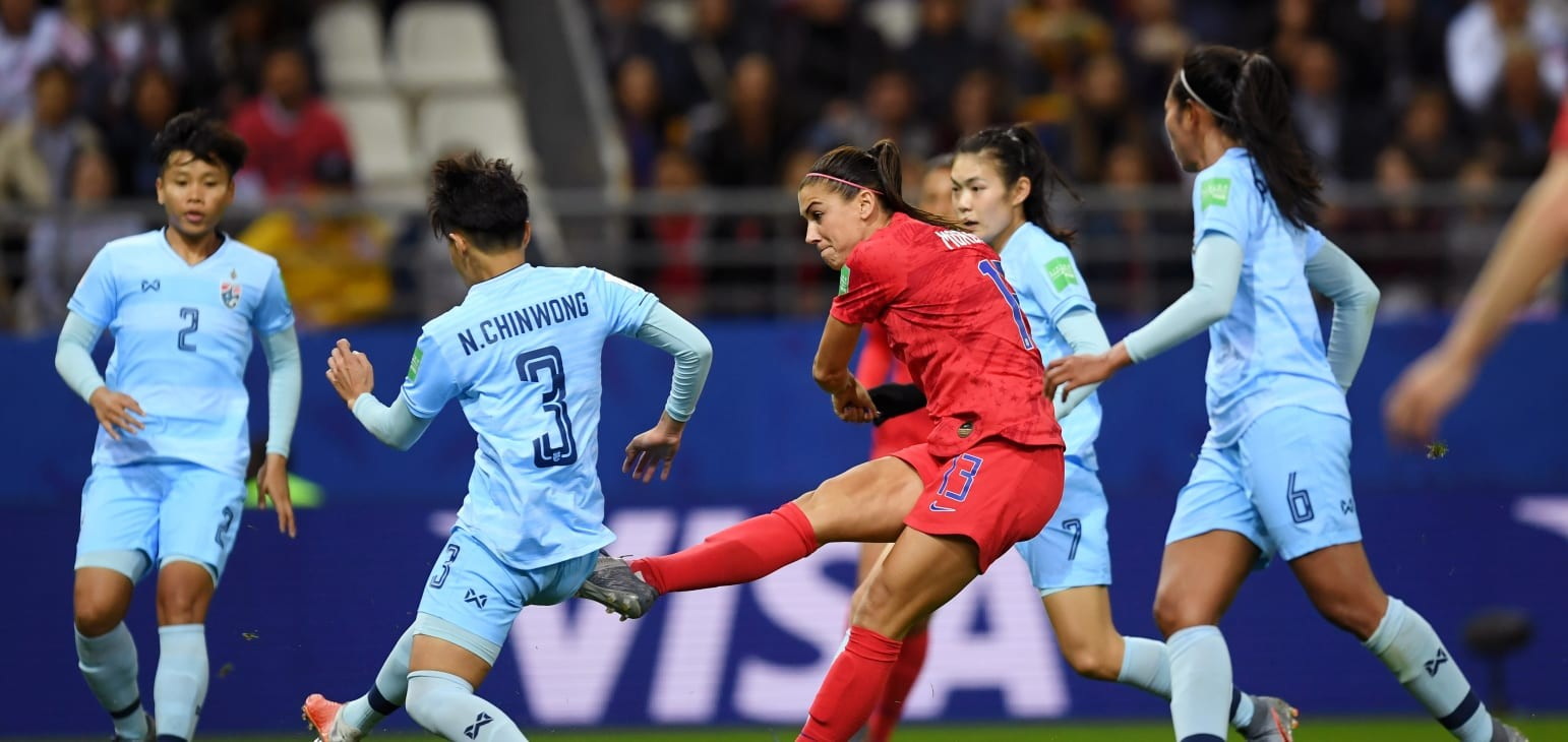 Group F: USA 13-0 Thailand