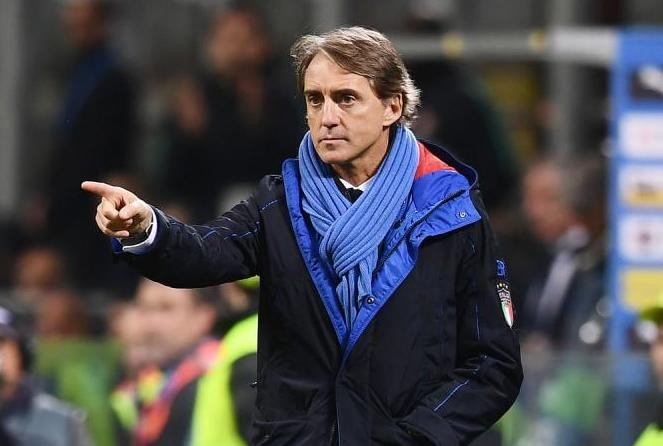 Mancini positive about Italy's prospects as perfect run continues