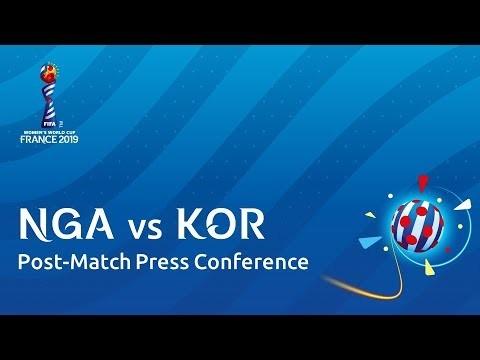 NGA v. KOR - Post-Match Press Conference