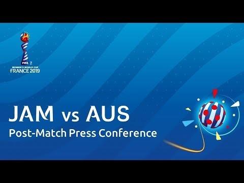 JAM v. AUS - Post-Match Press Conference