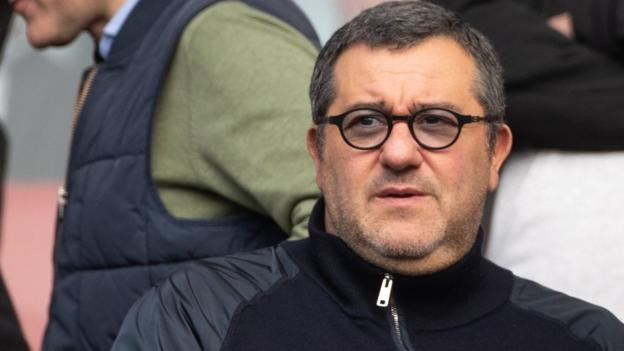Mino Raiola: Paul Pogba's agent has worldwide Fifa ban lifted