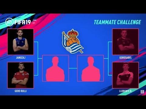 Teammate Challenge: Januzaj vs Rulli