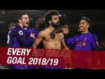 All 27 Mohamed Salah goals from the 2018/19 season | Chelsea screamer, CL Final penalty and more