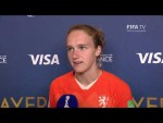 Vivianne Miedema – Player of the Match – Netherlands v Cameroon