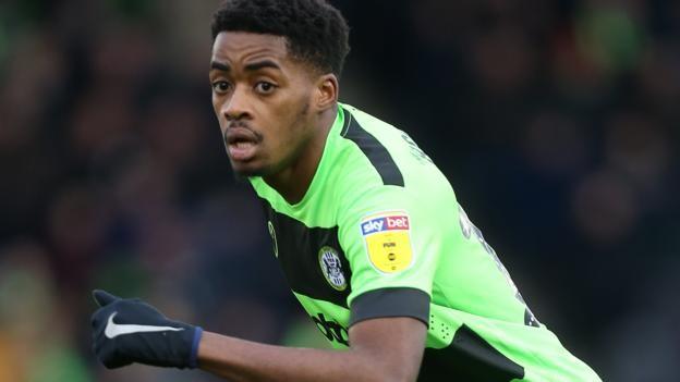 Reece Brown: Huddersfield Town sign Forest Green midfielder