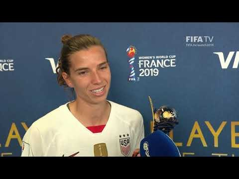 Tobin Heath – Player of the Match – Sweden v USA