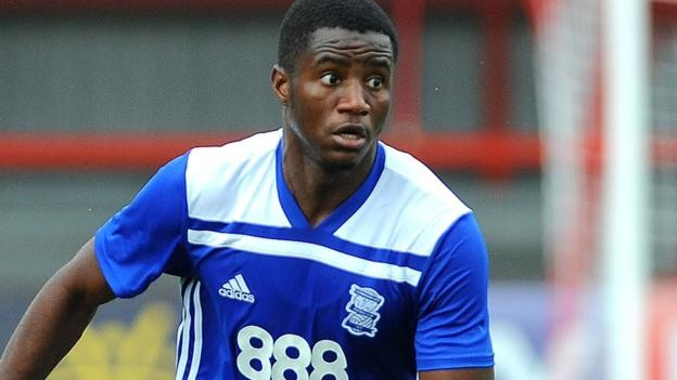 Beryly Lubala: Crawley Town sign midfielder from Birmingham