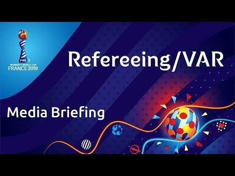 Media briefing about Refereeing/VAR