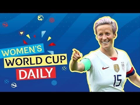 Rapinoe double sinks Spain as USA march on | Women's World Cup Daily