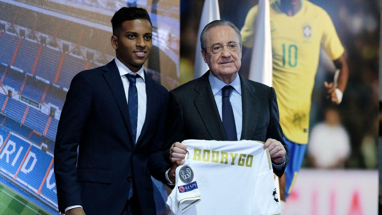 Rodrygo, Militao part of Real's future - Marcelo