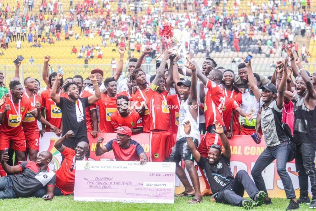 Tier 1 Special Competition Final: Asante Kotoko- Karela game in pictures