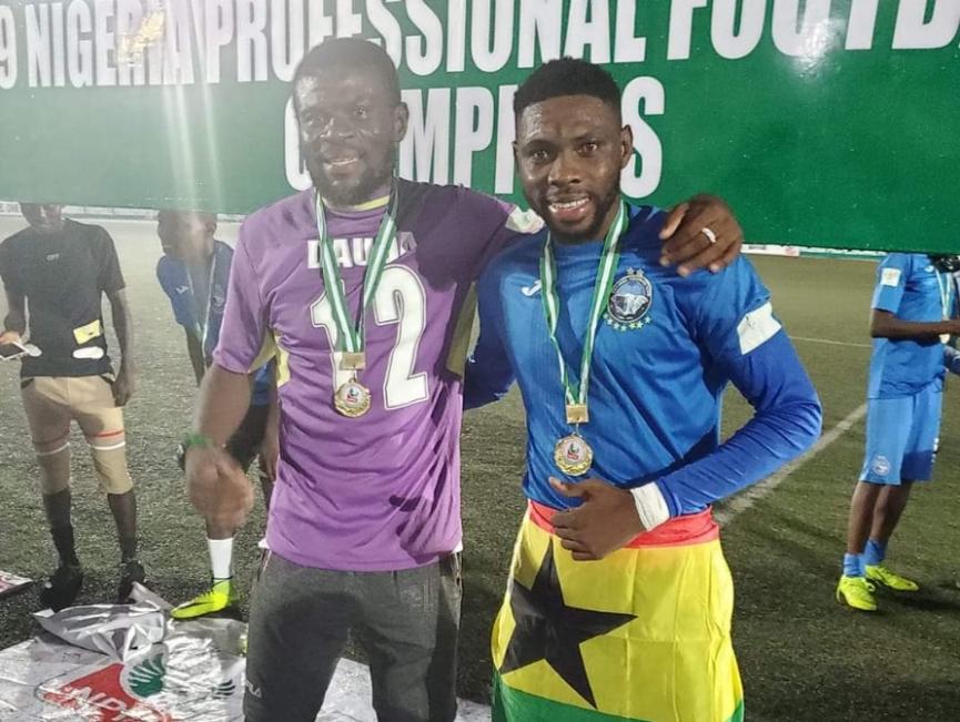 Ghanaian duo Dauda, Mohammed win Nigeria Premiership title with Enyimba FC