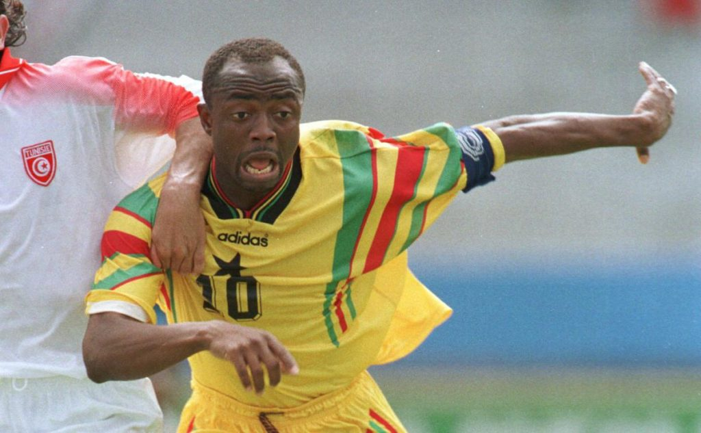 Maestro Abedi Pele voted 5th greatest African footballer in history by France Football