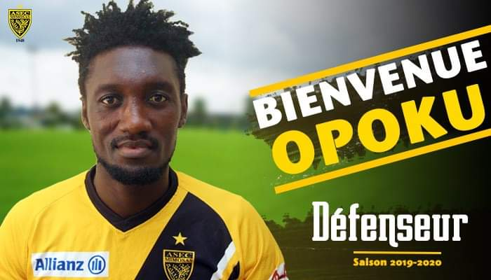 Ghanaian defender Richmond Opoku joins Asec Mimosas