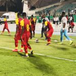 PHOTOS: Ghana held to a goalless draw by South Africa in friendly