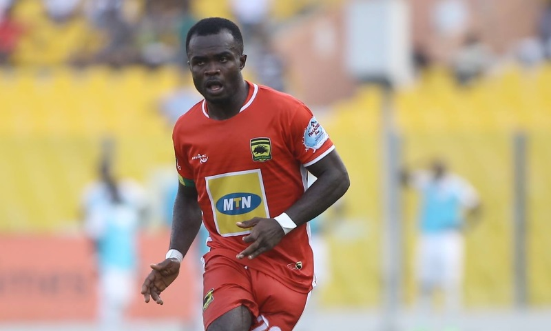 Special Competition: Kotoko captain Amos Frimpong confident of ending Hearts of Oak's perfect run in Accra