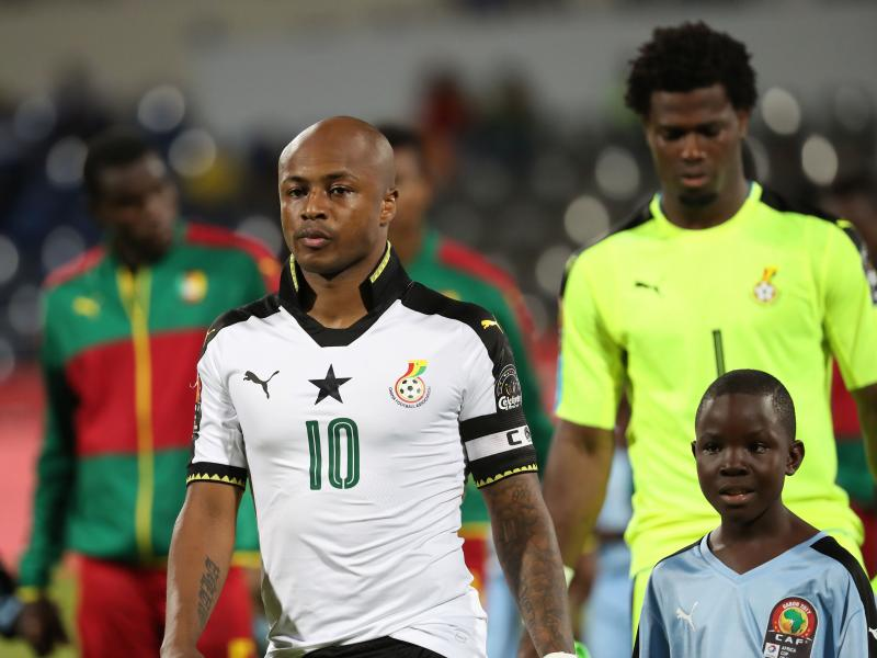 For the first time we are not favourites ahead of the Nations Cup- Ghana captain Andre Ayew