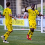 VIDEO: David Accam's debut goal for Columbus Crew sends them progress in US Open Cup