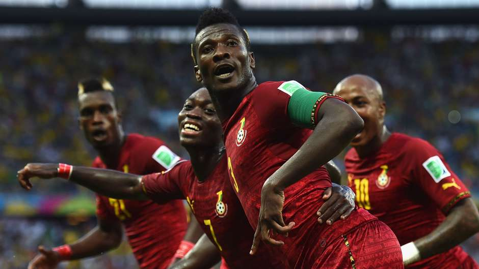 VIDEO: Asamoah Gyan mobbed by fans after Ghana-South Africa friendly