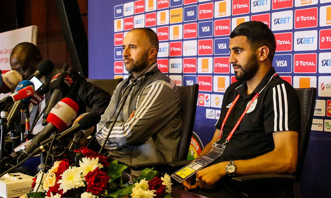 'We want to write our own history', says Algeria coach Belmadi