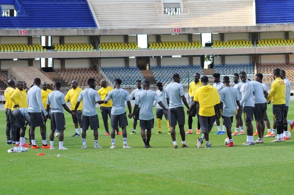 2019 Africa Cup of Nations: First batch of Ghana squad arrive in Abu Dhabi for training camp