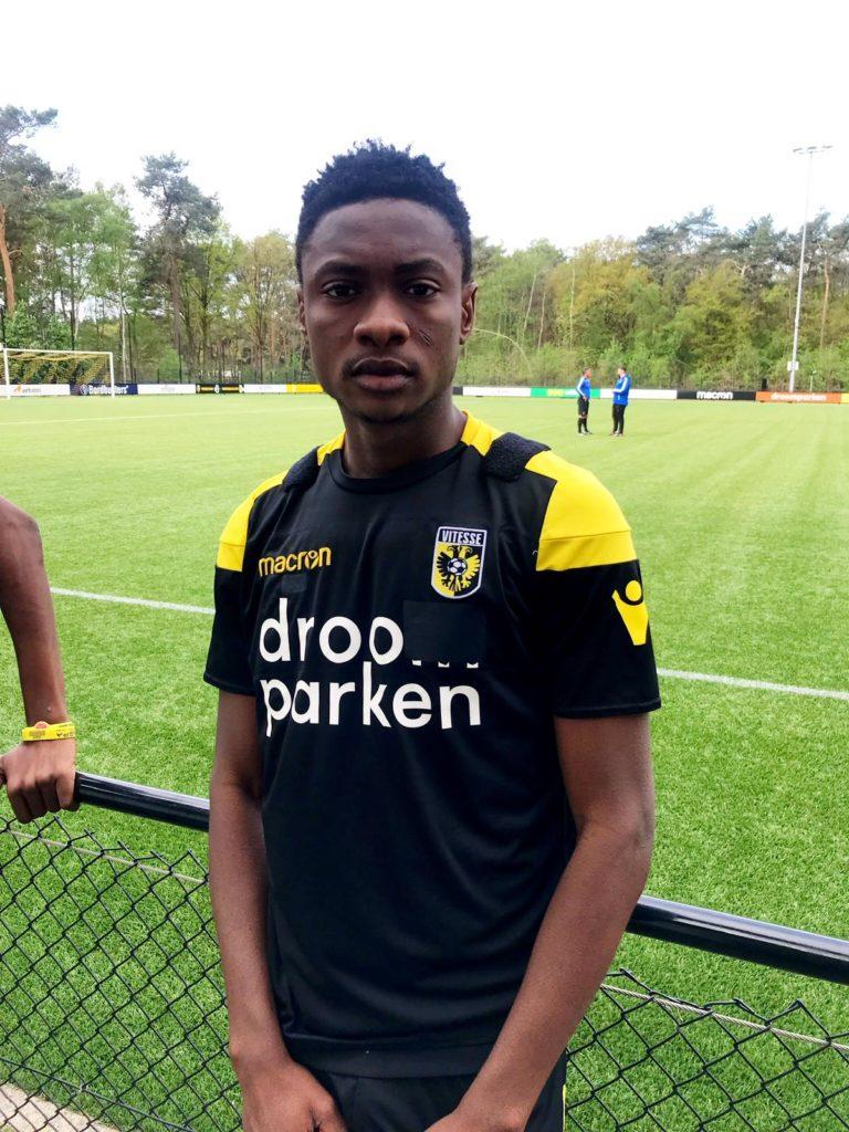 Ghana youth star Abdul Razak Yusif on target as Vitesse Arnhem draw against Tottenham