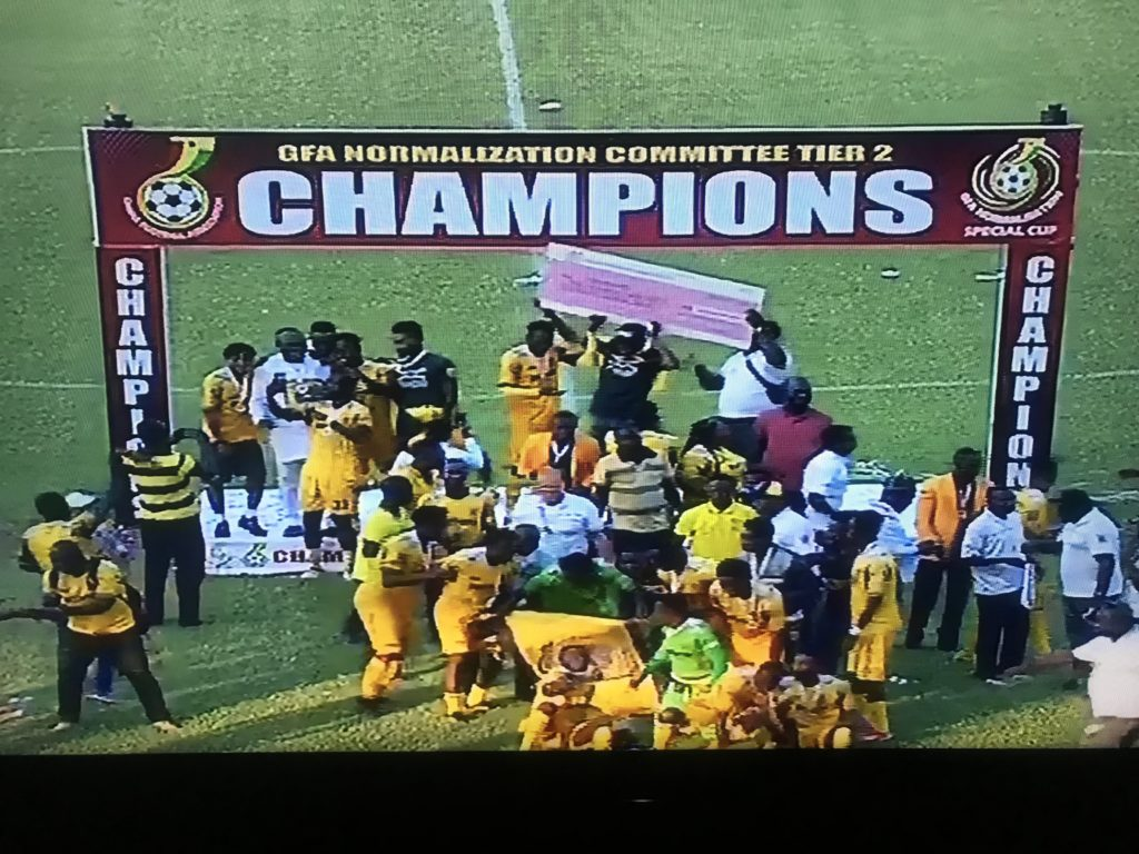 Tier II Special Competition: AshantiGold beat Nzema Kotoko to book Confederation Cup slot
