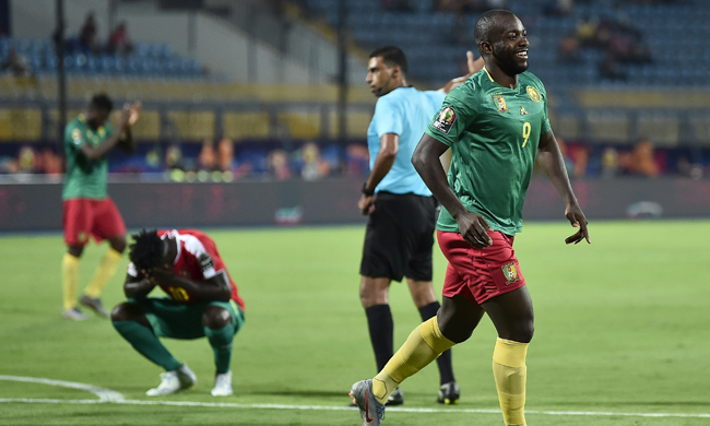 2019 Africa Cup of Nations: Cameroon beat Guinea-Bissau 2-0 in Group F opener