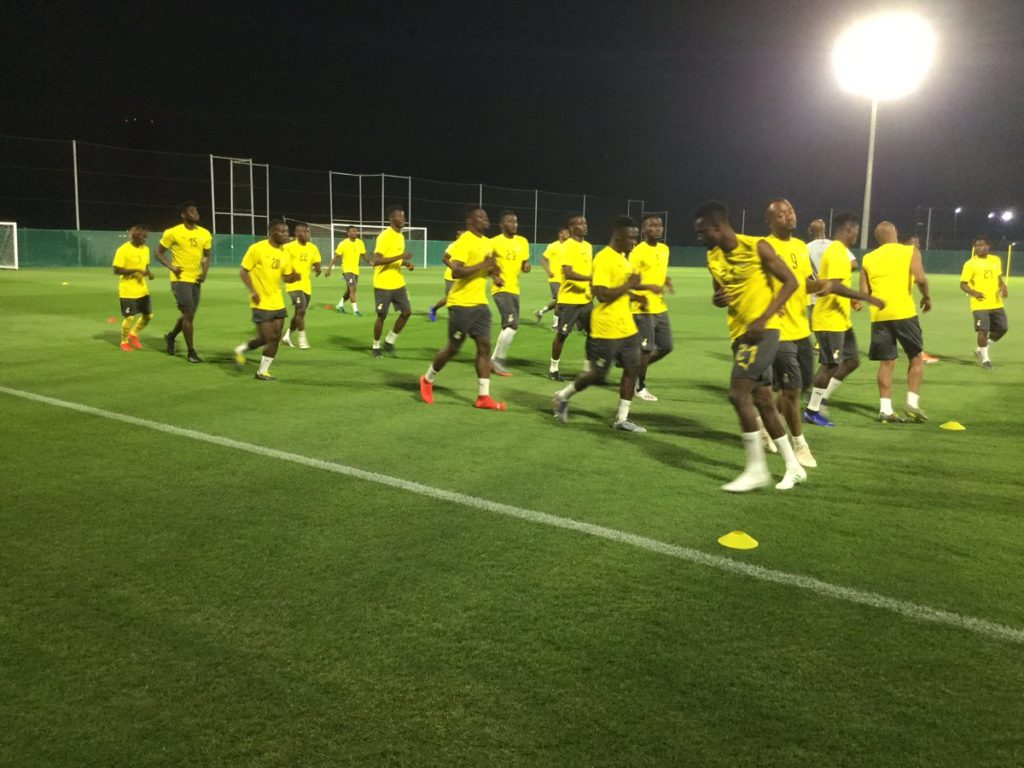VIDEO: Black Stars hold first training in Dubai ahead of 2019 AFCON