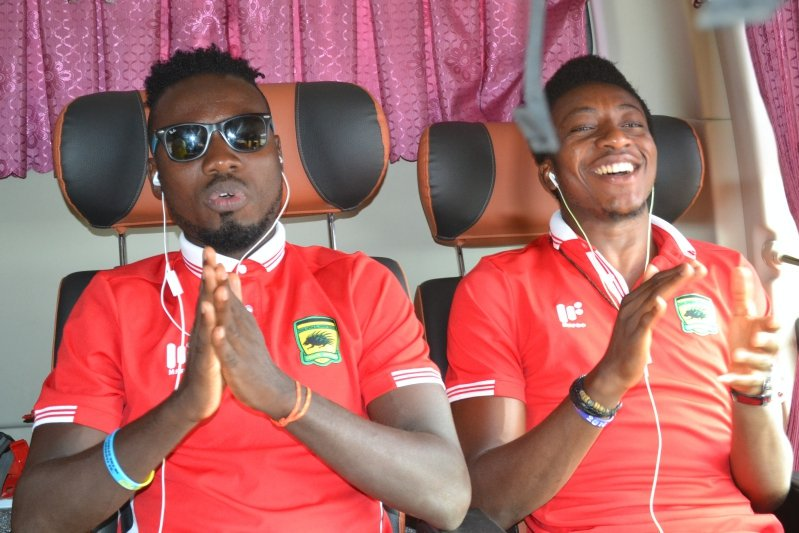 Eric Donkor congratulates former teammate Felix Annan for making AFCON final squad
