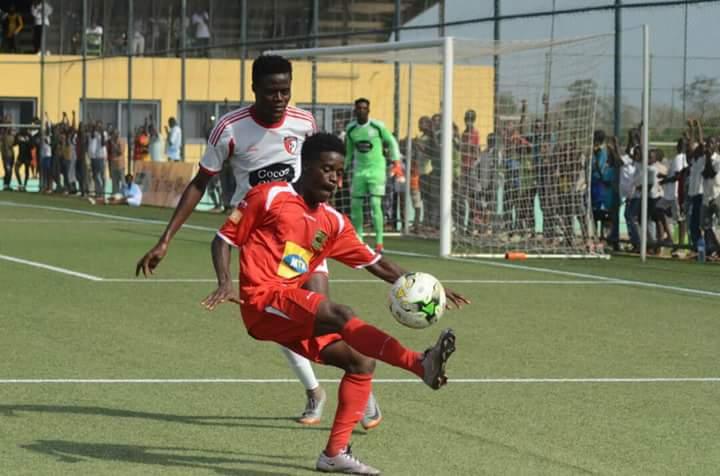 VIDEO: Kwame Boahene's spectacular goal for Asante Kotoko against Berekum Arsenal
